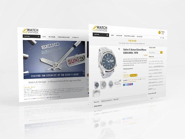 Ekko Digital - Ekko Digital - Création de site internet e-commerce- de Watch & Vintage